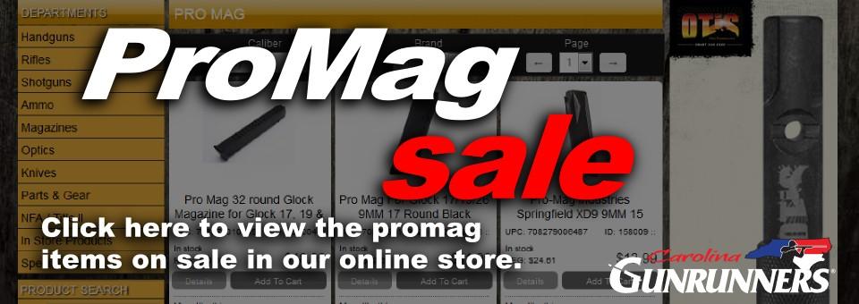 ProMag Sale