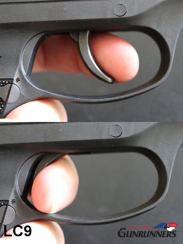 LC9 (Hammer Fired) Trigger Travel