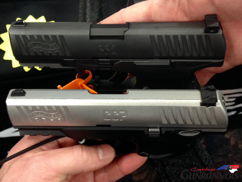 Walther CCP vs Walther PPQ