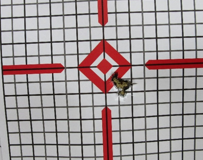 10 Yards – 5 Rounds (Iron Sights With Sling)