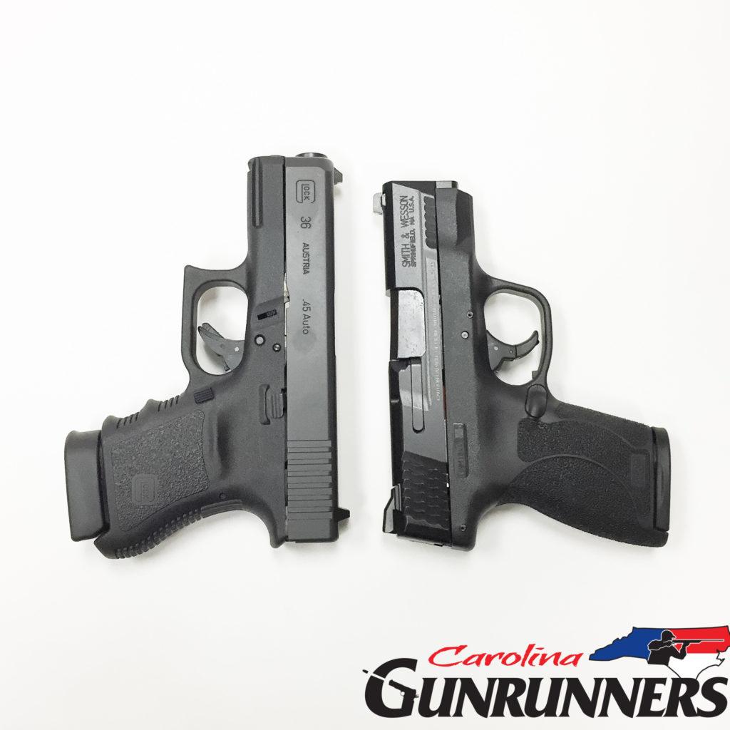 Glock 36 Vs Shield 45